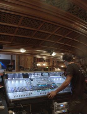 Sound director verify equipment