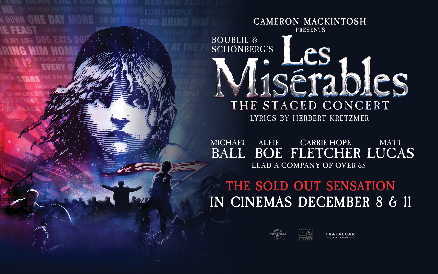 Press Release Les Miserables The Staged Concert Rocks Us Cinemas For Two Nights Only